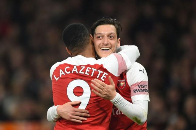 Arsenal news: Unai Emery rates Mesut Ozil's performance against Bournemouth