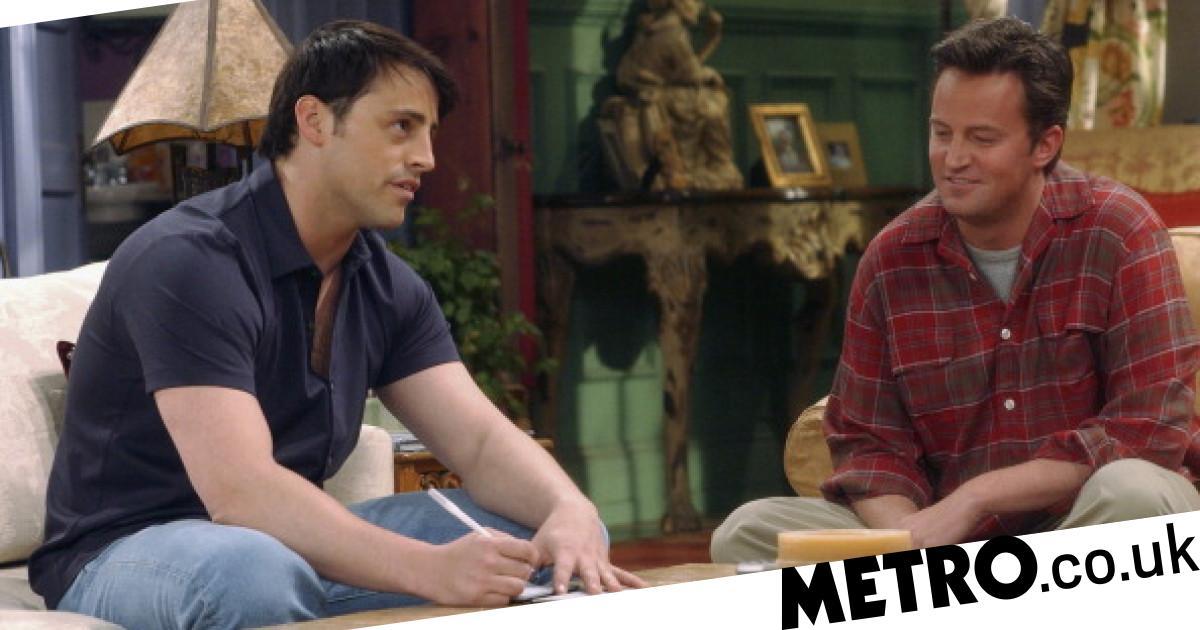 Friends fans crack a secret code in Joey Tribbiani's pin