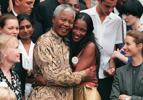 Naomi Campbell's 'beauty and innocence' intrigued Nelson Mandela reveals his longtime aide