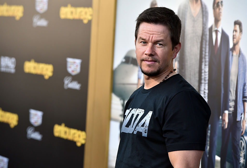 Mark Wahlberg at Entourage premiere