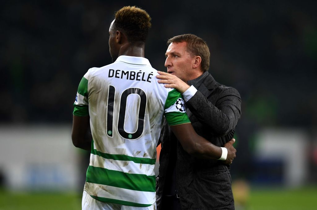 Moussa Dembele slams Brendan Rodgers after he ditches Celtic for Leicester
