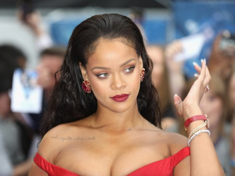 Rihanna finally addresses rumors that her album has been completed – but don't get your hopes up
