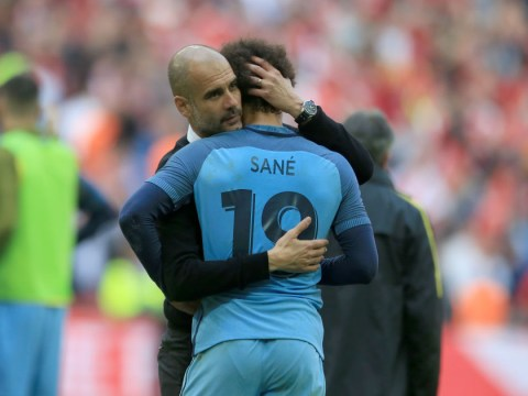Pep Guardiola explains why Leroy Sane is the 'best wide player in the world'