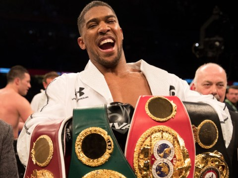 Anthony Joshua to make £19.3m against Jarrell Miller in US debut