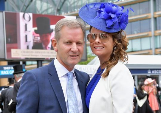 Jeremy Kyle and Vicky Burton