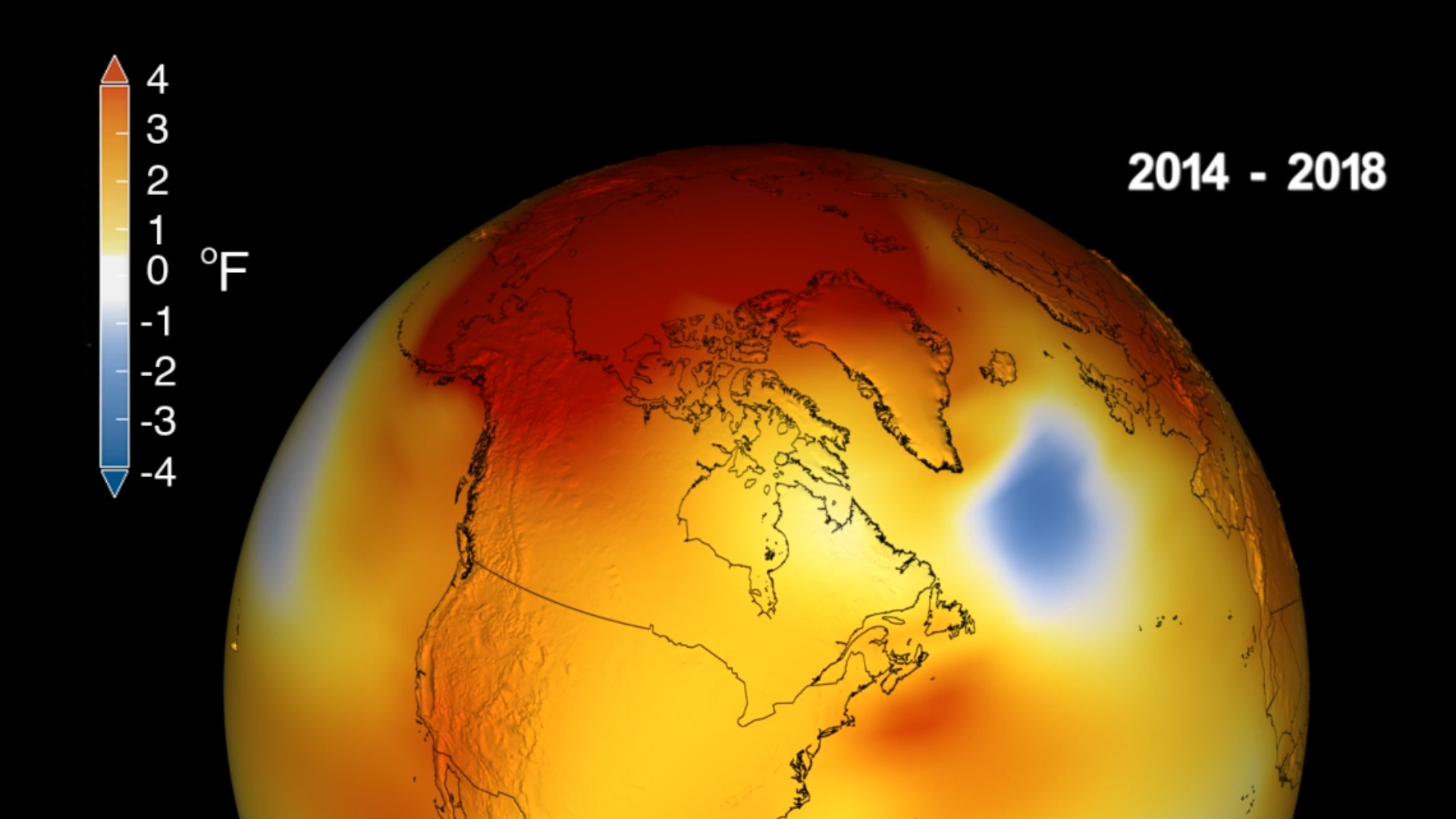 Global warming made 2018 the fourth hottest year on record, Nasa reveals