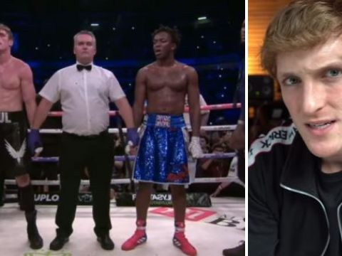 Logan Paul is handling KSI calling him a 'p***y' well as he talks boxing rematch
