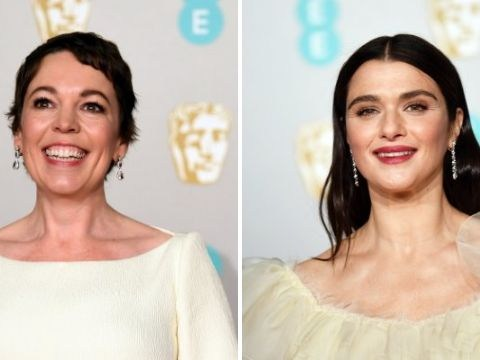 Olivia Colman and Rachel Weisz continue iconic meme by saying 'gay rights' in viral video