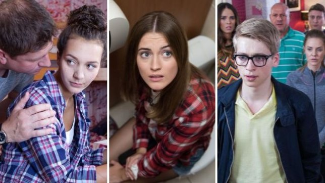 Hollyoaks tackled storylines including Cleo McQueen's abuse, Lily Drinkwell's self harm and Alfie Nightingale's psychosis