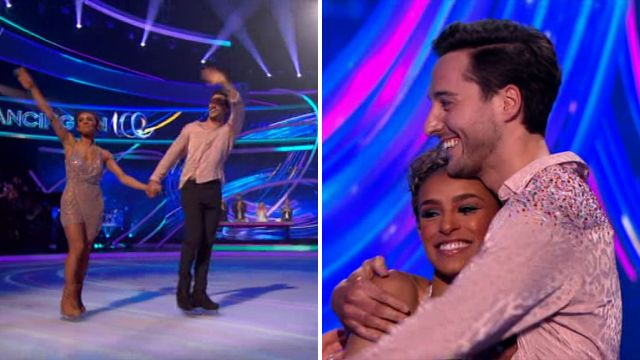Melody Thornton eliminated and misses out on Dancing On Ice semi-finals after nail-biting dance-off
