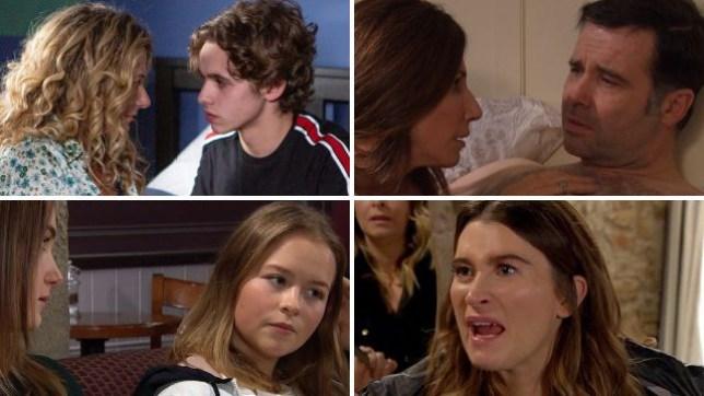 Emmerdale spoilers for Jacob, Maya, Graham, Megan, Liv, Debbie and Cain