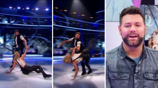 Brian McFadden drops Dancing On Ice partner Alex Murphy following back injury