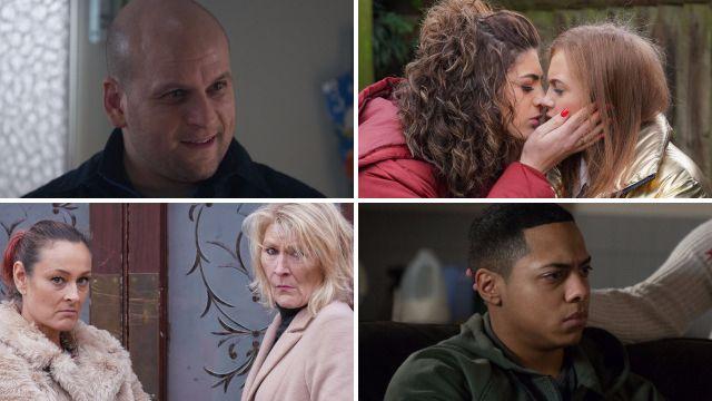 EastEnders spoilers for Stuart, Tiffany, Evie, Tina, Shirley and Keegan