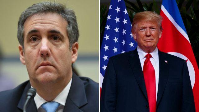 Michael Cohen refuses to reveal Donald Trump's deepest secret