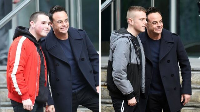 Ant McPartlin makes time for fan pictures during busy Britain's Got Talent schedule