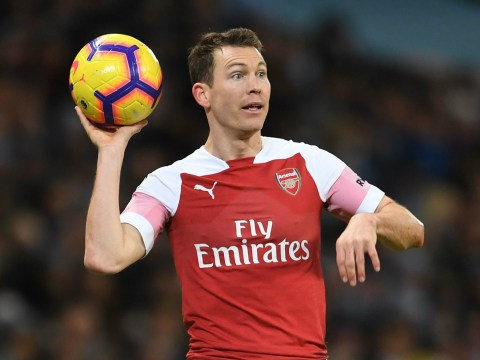 Shkodran Mustafi can replace Stephan Lichtsteiner at right-back for Arsenal, says Ian Wright