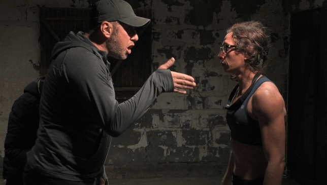 Louise McCullough in Channel 4's SAS: Who Dares Wins 2019