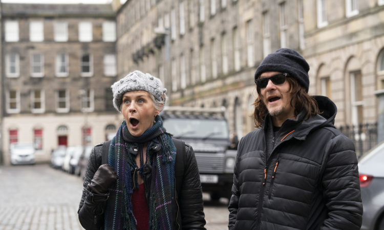 NOrman Reedus and Melissa McBride in Ride