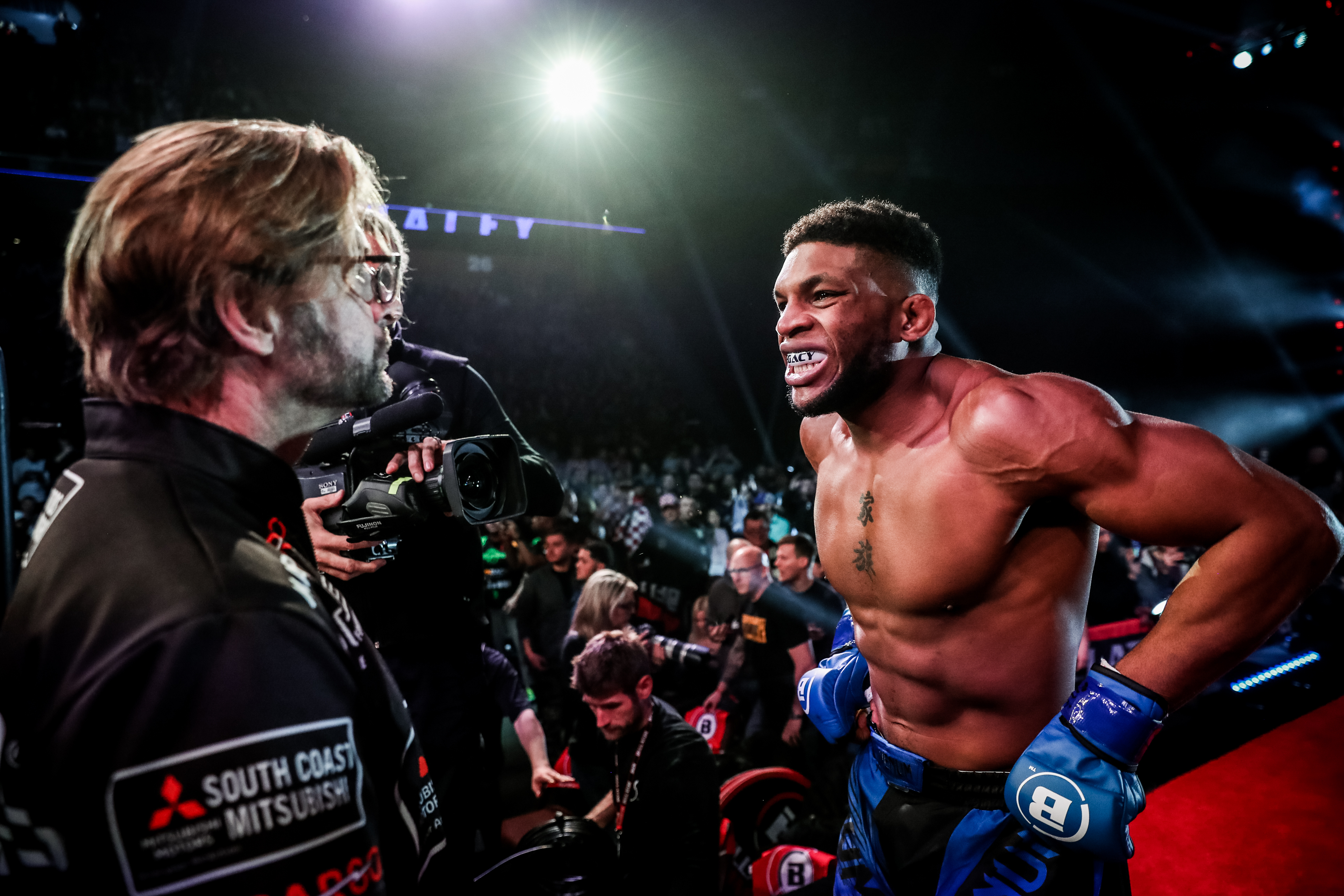 Michael Page v Paul Daley Bellator 216 (Picture: Bellator)