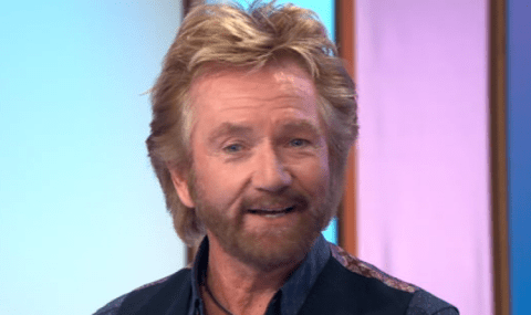 Noel Edmonds puts 10 year marriage to wife Liz down to cosmic order – and remembers the exact time they met