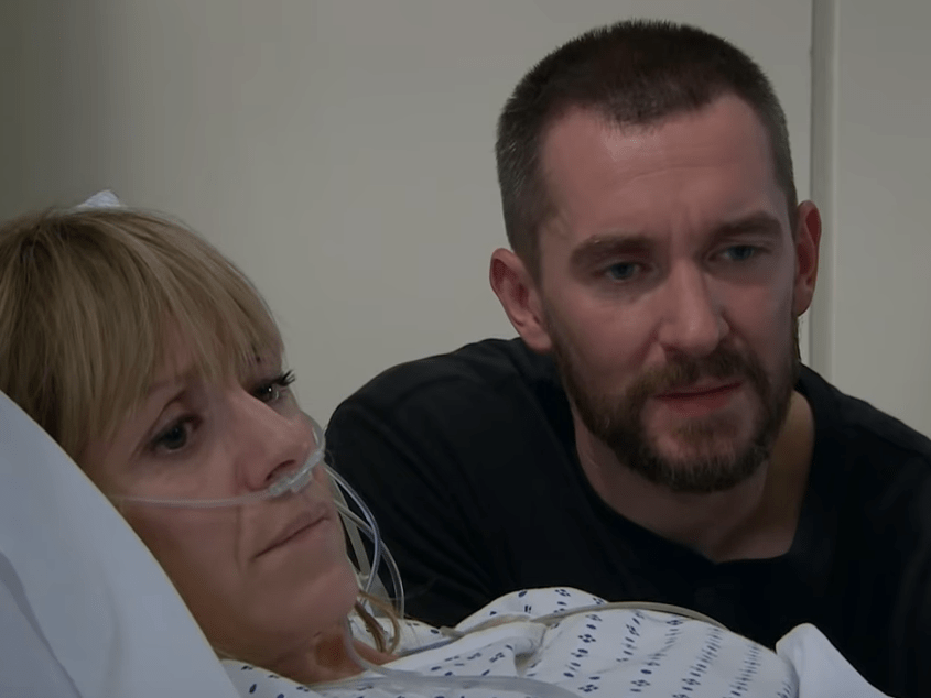 Emmerdale spoilers: Heartbreaking split for Pete Barton and Rhona Goskirk