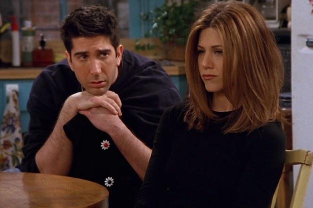 Ross and Rachel go on a break in Friends