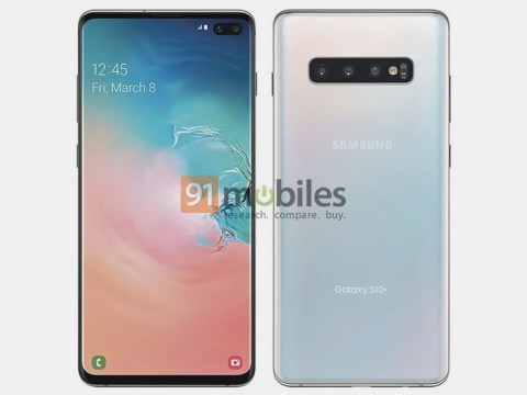 Samsung Galaxy S10+ exposed in leaked render ahead of launch