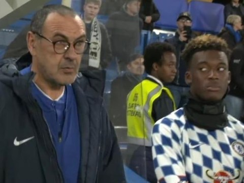 Callum Hudson-Odoi fuming with Chelsea boss Maurizio Sarri over FA Cup snub