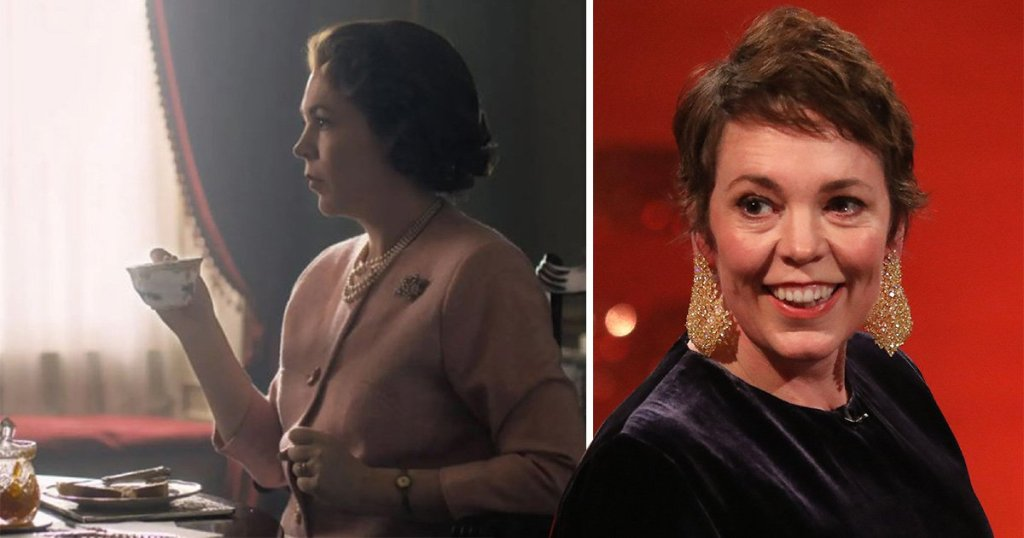 Who does Olivia Colman play in the Crown and when is season three released on Netflix?