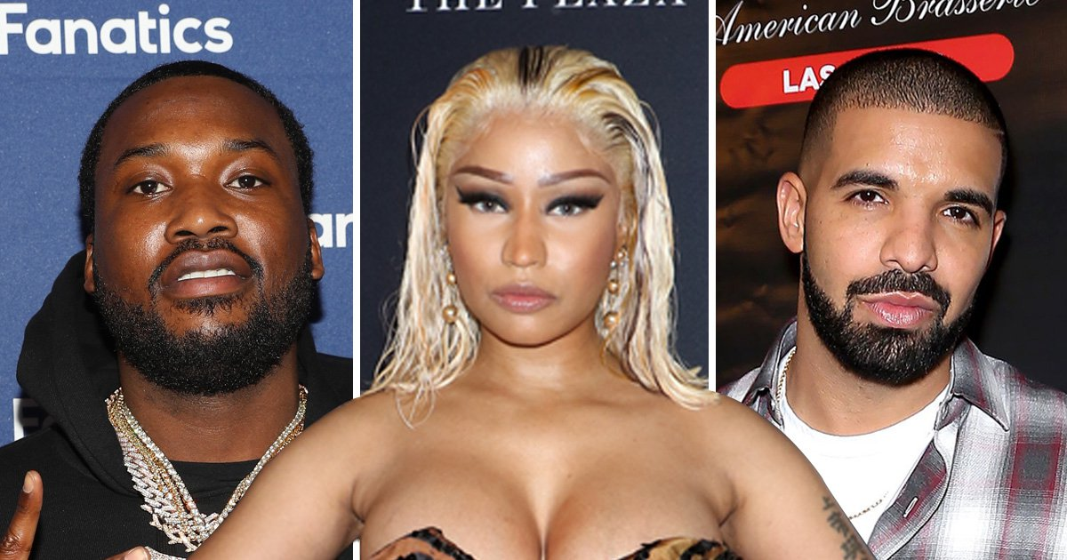 Nicki Minaj takes another jab at 'Drake and Meek Mill' in new freestyle: 'They tried to end me'