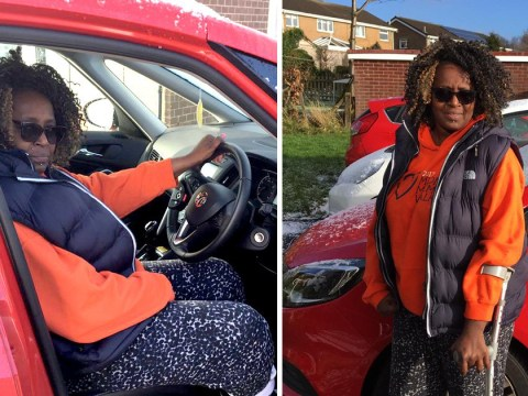 Stroke victim has mobility car taken away because she was able to walk six metres