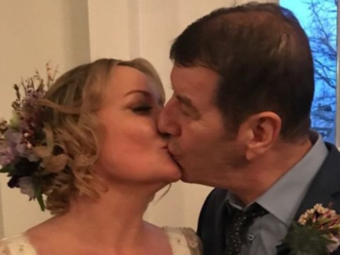Eastenders' Laurie Brett marries Dennis Longman in intimate ceremony