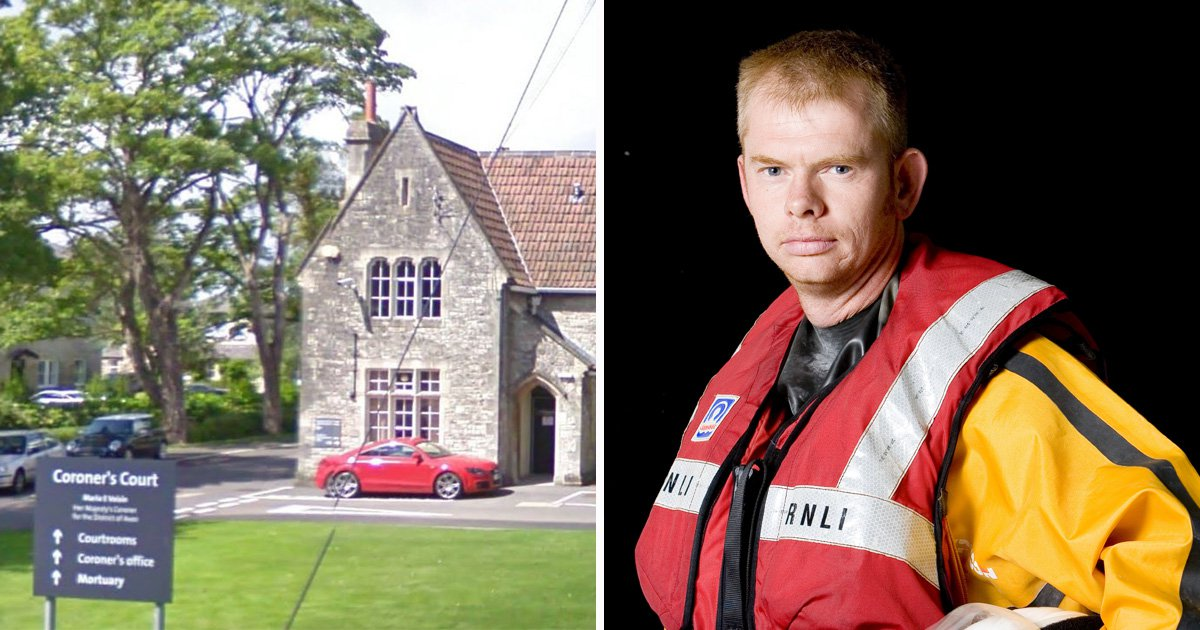Dad drowned after tow bar snapped and hit him in back of head while fixing mooring