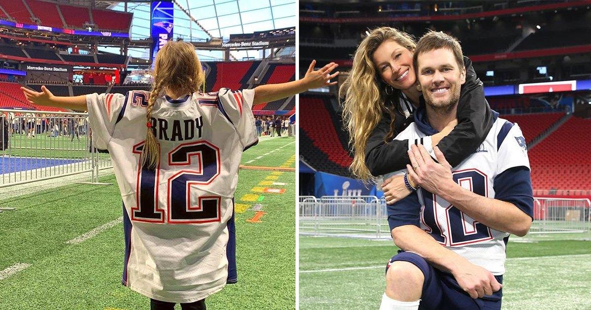 Gisele Bundchen shares adorable tribute to footballer husband Tom Brady before Super Bowl: 'I got your back!'