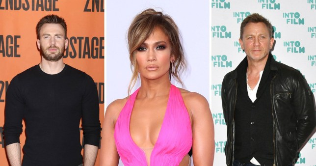 Daniel Craig, Chris Evans and Jennifer Lopez lead string of A-listers who will present Oscars after Kevin Hart stepped down