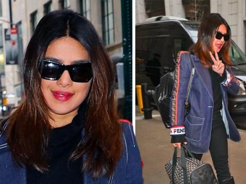 Priyanka Chopra is fashionable in Fendi as she gets back to work after honeymoon