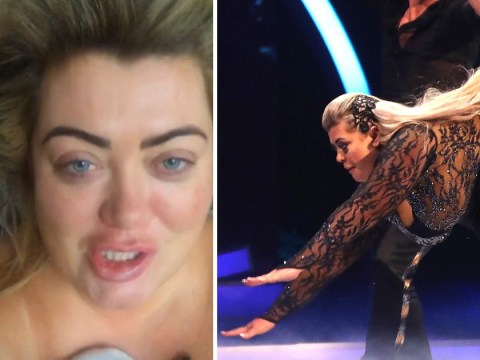 Gemma Collins gets treated to spa day courtesy of Dancing On Ice producers after falling ill