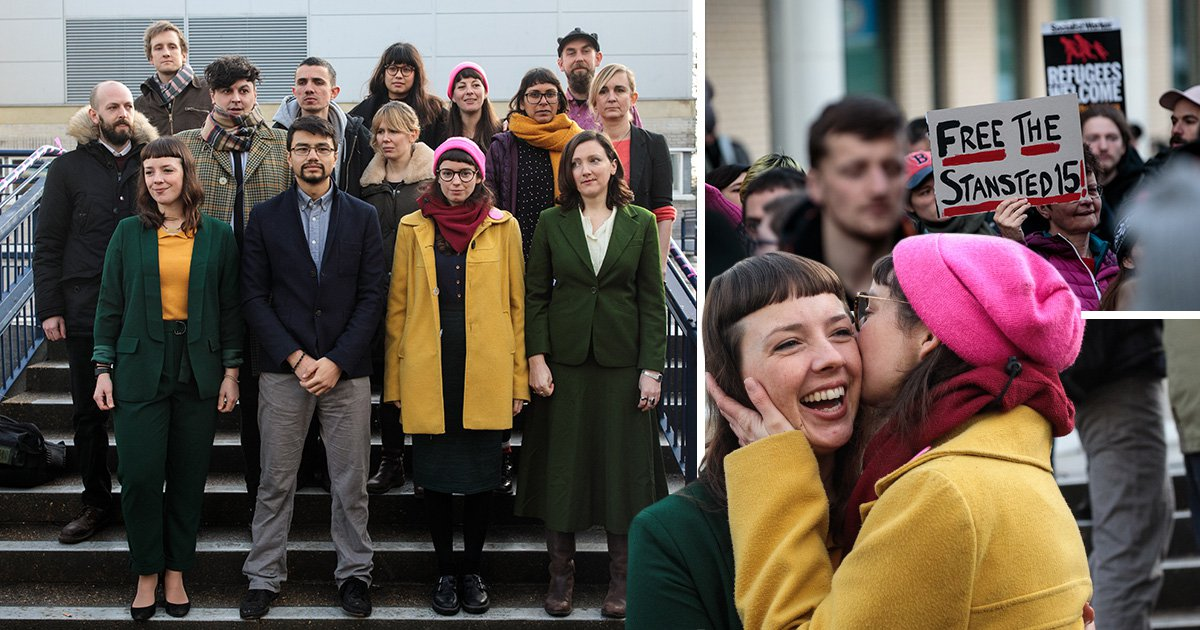 The Stansted 15 have been spared jail but their convictions should terrify us all