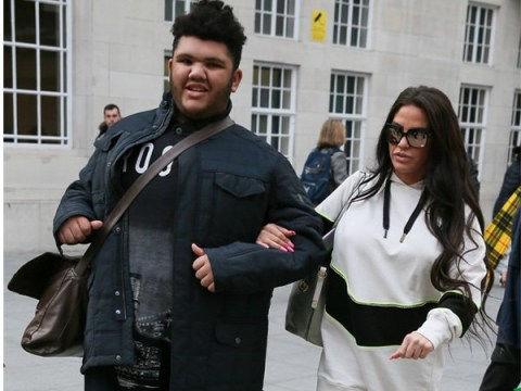 Katie Price's son Harvey melts hearts as he impresses with train knowledge – after she admits he may move into care