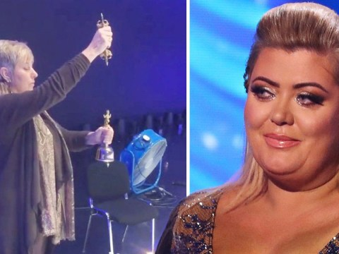 Gemma Collins brings psychic to Dancing On Ice to 'cleanse the rink of bad energy' and avoid another nasty fall