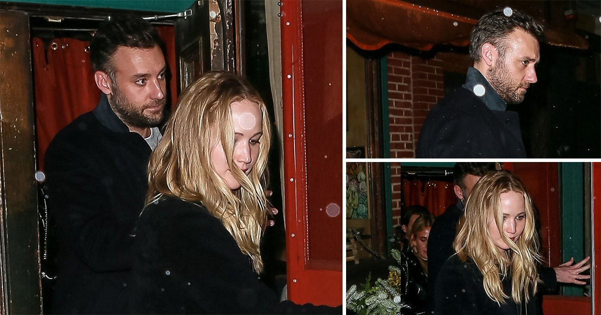 Jennifer Lawrence hides engagement ring as she enjoys date night with Cooke Maroney