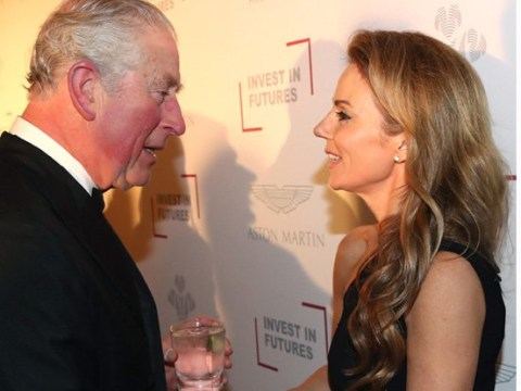 Geri Halliwell hails Prince Charles a 'Spice Boy' but keeps hands to herself 20 years after infamous 'bottom pinching'