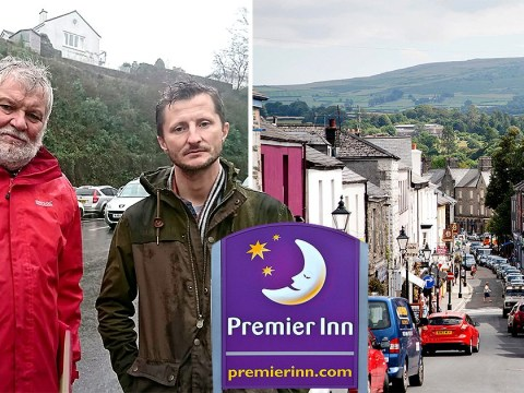 Britain's 'angriest town' that turfed out McDonald's is now fighting Premier Inn