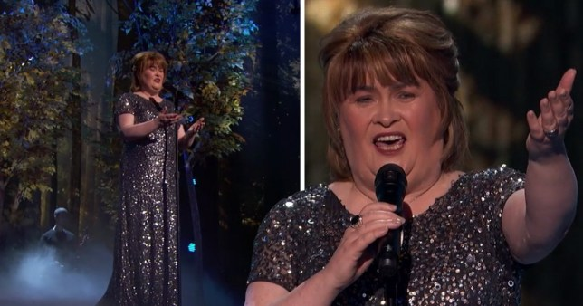 Susan Boyle wows AGT: The Champions judges with finale