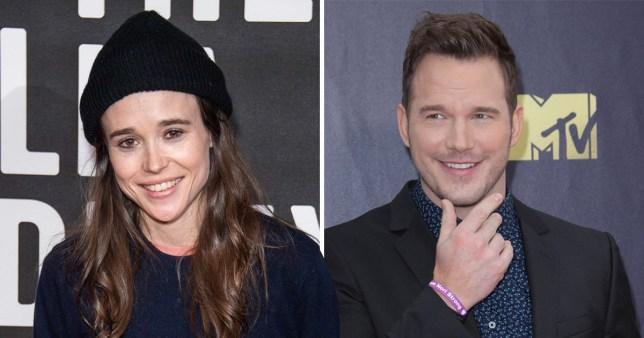 Ellen Page and Chris Pratt