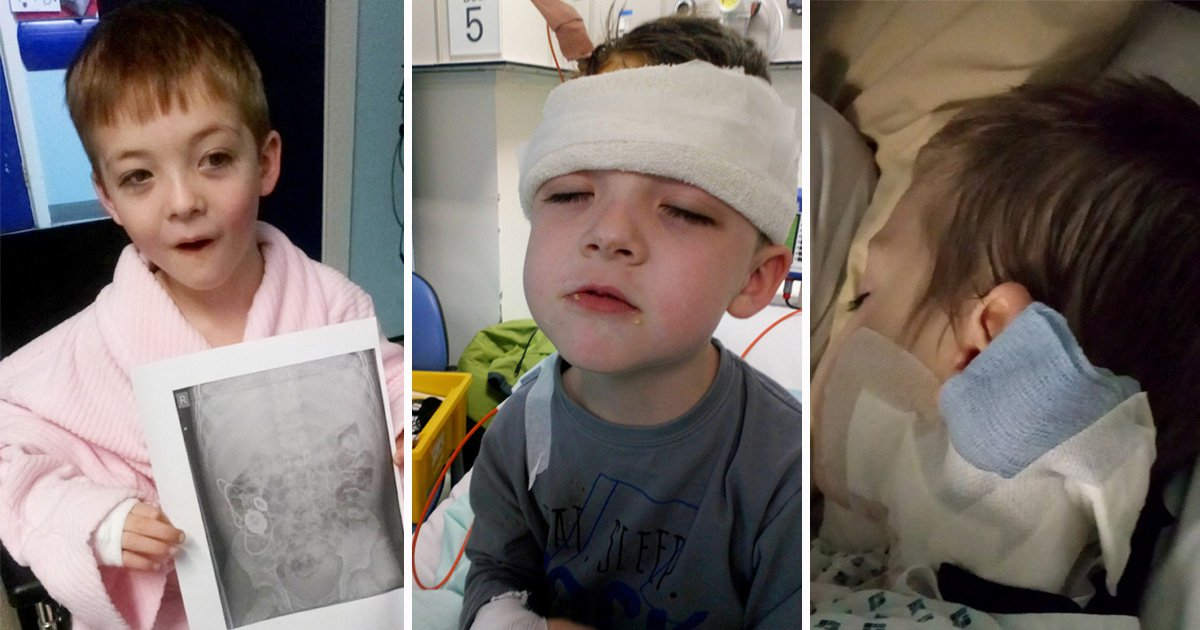 'Bubbly' boy, 7, struck down by rare disease is now 'sad all the time'