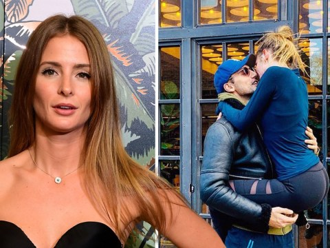 Millie Mackintosh gets all up on husband Hugo Taylor on her return from detoxing break in Azerbaijan