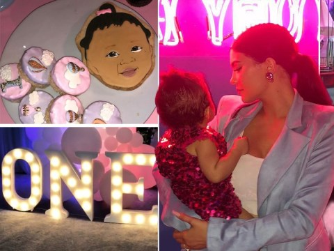 Kylie Jenner just threw Stormi the most insane first birthday party and fans are freaking out