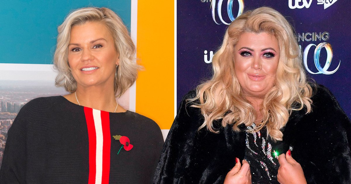Dancing On Ice's Gemma Collins 'receives spiritual guidance' from Kerry Katona to deal with trolls