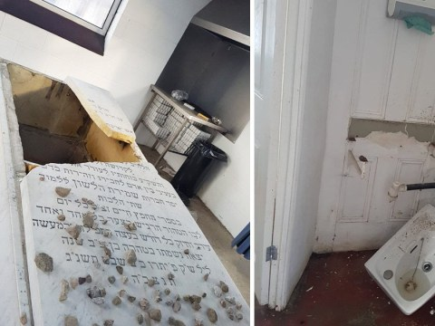 Jewish cemetery desecrated in hate crime attack